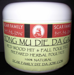 Hong Mu Die Da Gao - Red Wood Hit & Fall Poultice