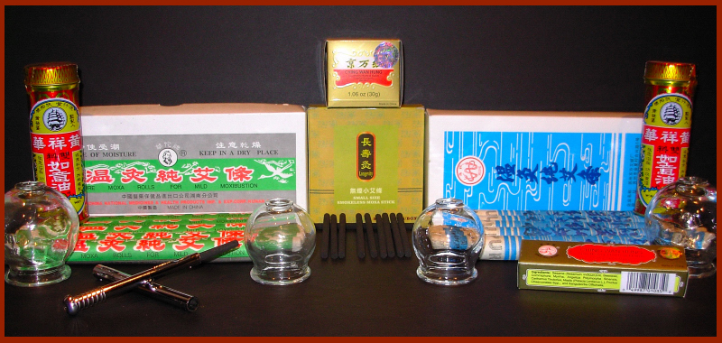 Moxa & Moxibustion Supplies