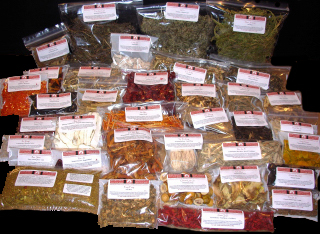 Scar Family Dit Da Jow - Packaged 1/4 Lbs. Whole Chinese Herbs