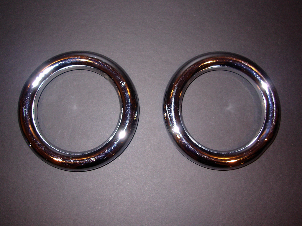 iron training rings pair